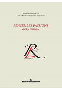 Penser les passions à l'âge classique