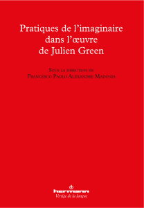 Pratiques de l'imaginaire dans l'œuvre de Julien Green