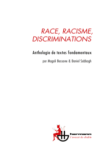 Race, racisme, discriminations