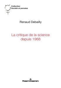 La critique de la science depuis 1968
