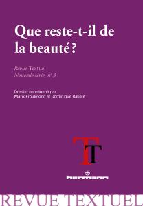 Que reste-t-il de la beauté ?
