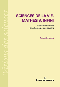 Sciences de la vie, mathesis, infini