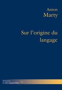 Sur l'origine du langage Book Cover