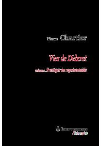 Vies de Diderot.  Volume 2