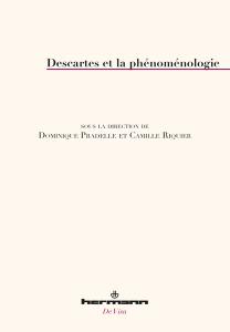 Descartes et la phénoménologie Couverture du livre