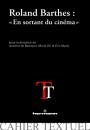 Roland Barthes : « En sortant du cinéma »
