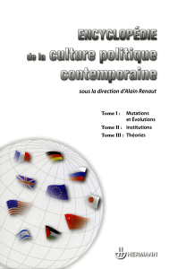 Encyclopédie de la culture politique contemporaine
