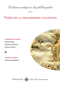 Cahiers critiques de philosophie, n°9