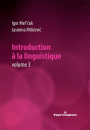 Introduction à la linguistique. Volume 3