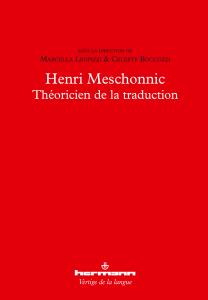 Henri Meschonnic, théoricien de la traduction