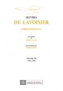 Correspondance, Volume VII (1792-1794)